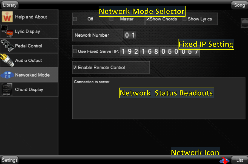 NetworkSettings